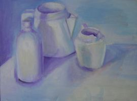 White Still Life by Villacious