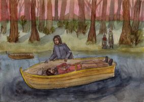 Farewell to Boromir by Lana-Lumos