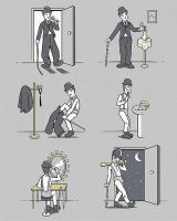 A Clockwork Orange and  Charle by Alice-Coal