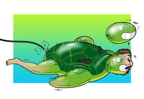 Turtle Toyed! by Redflare500