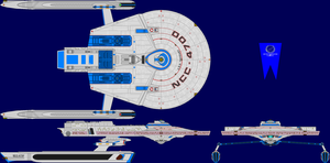 USS Taggart Multi-View by captshade