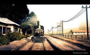 Train Station by UEGProductions