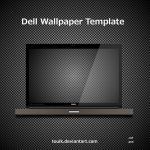 Dell Wallpaper Template by touik