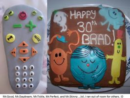 manly bday cakes by Mab-overthrown