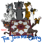 Join me gang by Ask-GraystripeX