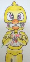 Withered Chica Chibi  by Bluetta97