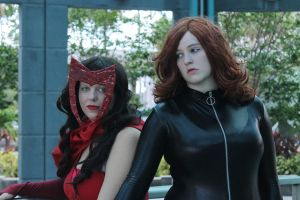 Avenging Ladies by Edge-Cosplay