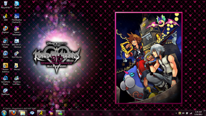 Kingdom Hearts 3Ds Desktop of Awesome by KleeAStrange
