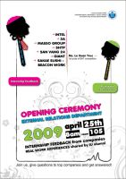 Opening ceremony poster by maitram