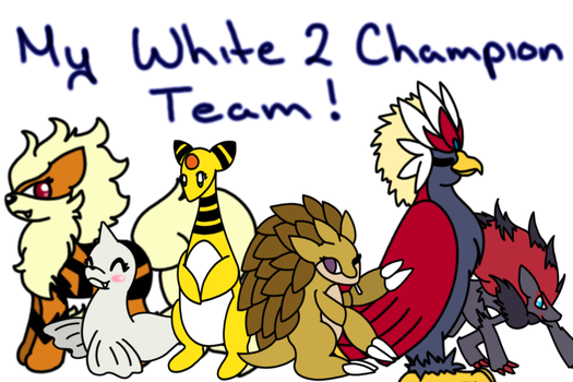 White 2 Team by kaggy009