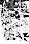 Space Ghost Inks by deankotz