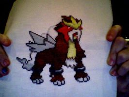 Entei by IshyWishy