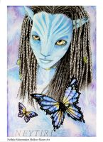Neytiri UPDATE by Hollow-Moon-Art