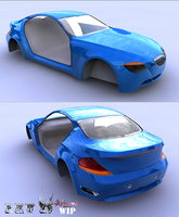 BMW Z9 WiP by artsoni