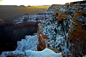 Sunrise, Grand Canyon by fourthwall