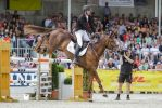 3DE Show Jumping Landing Phase Stock 58 by LuDa-Stock