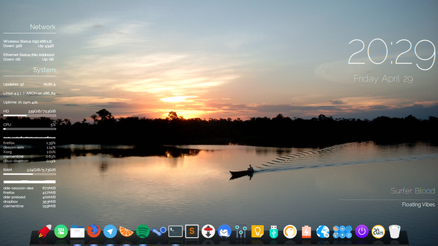 Deepin on Antergos again by Pluck27