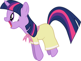 Jumping Twilight with her Cute Dress by Mighty355