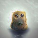 Baby Wookie by goRillA-iNK