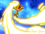 Super Shadow Chaos Spear by grim-zitos