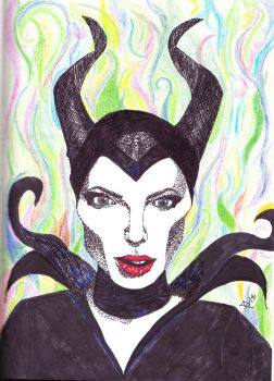 Maleficent by cattail13
