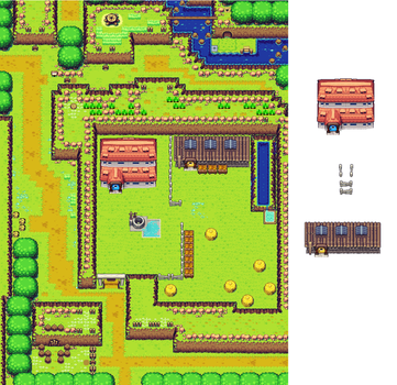 Lon Lon Ranch (my style remake) by earthbouds