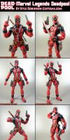 Custom Marvel Legends Deadpool by KyleRobinsonCustoms