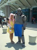 AX 2012 68 - Fluttershy and Alphonse by choxie-chan