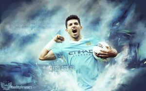 Sergio Aguero Wallpaper by ManCityGraphics