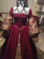 Tudor Gown with Belt by TheMostHappy12