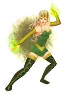 The Enchantress Amora by Kurospoons