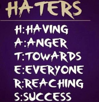 #hatersgonnahate by RabyPower00