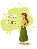 Disney Heroines - Jane by Safira-09
