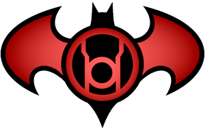 Batman Red Lantern Logo by KalEl7