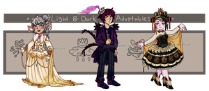 Light And Dark Adoptables - [closed] by C-ren
