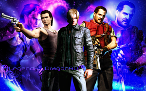 Resident Evil Heroes by LegendaryDragon90