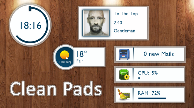 Clean Pads 1.0 by TobiMcCan
