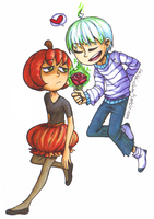 Lets Burn Roses Together by sry005