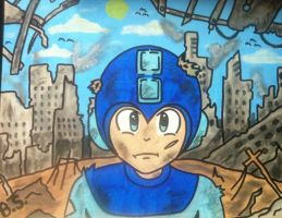 MEGAMAN by sampson1721