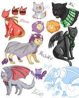 Mostly Felines by Angel-soma