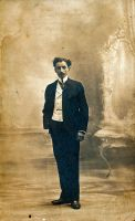 Man in Suit 1 by Oldphotos