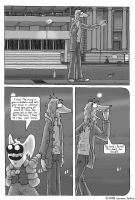 Poji and Dave: Issue 1 'Dancer in the Dark' Pg 26 by cart00nlion
