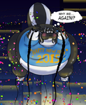 Skunkman's Inflated New Years...AGAIN!-COM '14 by Skunkman001