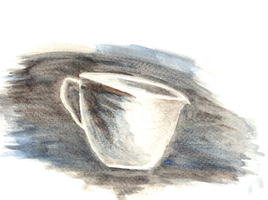 A cup of something by 3allaf