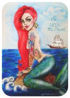 The Little Mermaid by psichodelicfruit