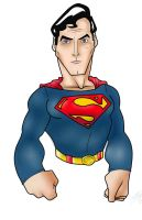 Christopher Reeve Superman in SAI by Kryptoniano