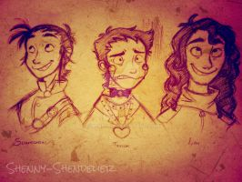 LoODR: Teh gang's all HEYA! by Shenny-Shendelier