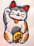 Maneki Neko by TheSunriseMassacre