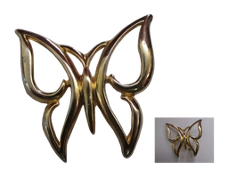 Butterfly Broach Png by Birdsatalcatraz