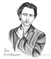 Tom Hiddleston by MariaHasAPaintBrush